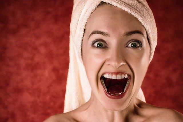 teeth smiling woman